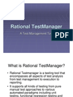 Test Manager Tutorial