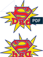 SuperDad IronOn