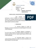 Demanda de Cumplimiento Constitucional 037-94