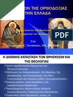 Το μέλλον της Ορθοδοξίας στην Ελλάδα - Σπυρίδων Τσιτσίγκος
