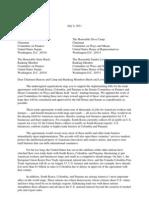 Coalition Letter on Mock Markups for FTAs