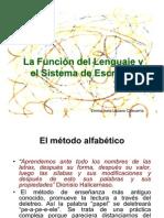 La Función del Lenguaje y el Sistema de