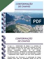CONFORMAÇÃO DE CHAPAS