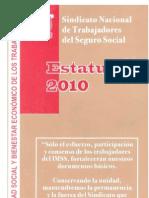 Estatutos 2010 Sindicato Nacional Trabajadores Seguro Social Sntss Imss 110707