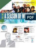 Greensboro Symphony Brochure for 2011-2012