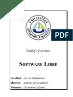 TP - Software Libre (Final Version)