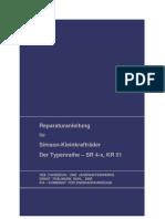 Reparaturanleitung SR4 KR51 Serie
