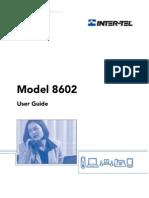Inter-Tel Model 8602 User Guide