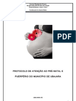 Protocolo de Pré-Natal Ubajara-CE