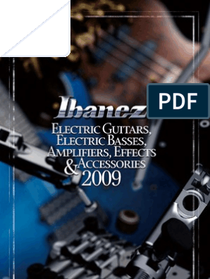 ibanez catalouge   Musical Instruments   Guitars on