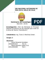 Seminario de Investigacion Remesas Familiares Javier