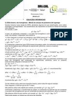 Cálculo IV Ap 8 2011.1