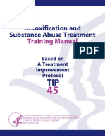 Detox and Substance Abuse Treatment Manual