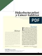 Hlicobacter Pylori y Cancer Gastrico