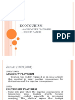 Eco Tourism - Jafari Four Platforms
