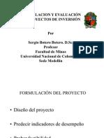Presentacion ion y Evaluacion de Proyectos
