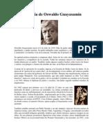 Biografía de Oswaldo Guayasamín