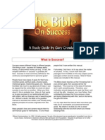 Bible on Success