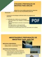 Amostragem_Preparacao Analise Granulometrica