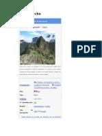 Machu Picchu _01