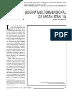 Guerra Multidimensional de Afganistan  Alfredo Jalife-Rahme
