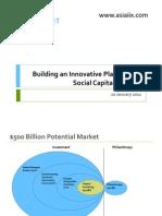Innovative Platform for Social Capital Markets - Robert Kraybill