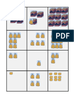 Matemáticas - Loteria de  Unidad Centena Decena (MANGOS)