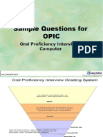 Questions for OPIC