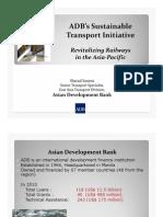 2011 - Trans Asian Railways Meeting - Busan - Sharad Saxena (June)