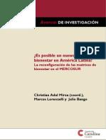 ¿Es posible un nuevo Estado de bienestar en América Latina? La reconfiguración de las matrices de bienestar en el MERCOSUR