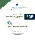 PROGRAMA DE FORMACIÓN OCUPACIONAL