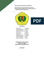 Laporan Praktikum Ekologi Hewan