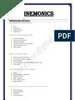 Easy to Use - Mnemonics
