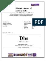 Distribution of Cadbury Products
