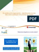 El Cambio en la Organizacion