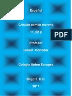 Cristian Moreno 1102 (2011)