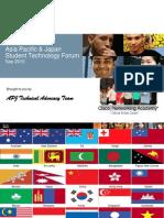 5th APJ Student Technology Forum Pub