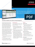 Hitachi Device Manager Software Datasheet