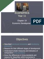 Chapter 19 Economic Development