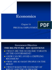 Chapter 16 Prices & Employment