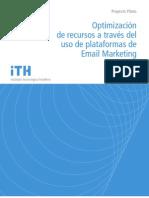 Optimización de recursos a través del uso de plataformas de Email Marketing