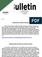Bulletin May 11