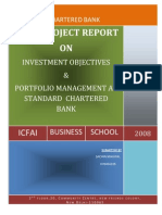 Portfolio Management at Standard Chartered