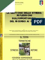 Presentazione Ritiro e Stress