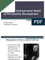 Sullivan's Interpersonal Model of Personality Development