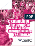 YWCA of Bangladesh Annual Report 2009-2010 edited by Anirudha Alam and Helen Monisha Sarker