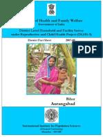 F- Aurangabad Fact Sheet-New