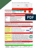 Fichas de Segurança Simplificada AQP_METANOL