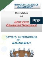ppt on fayol 14 principles