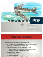 Airlines Industry- India